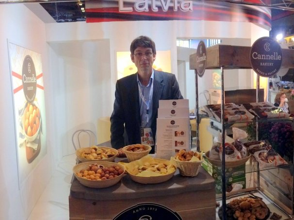 Cannelle Bakery at SIAL 2014