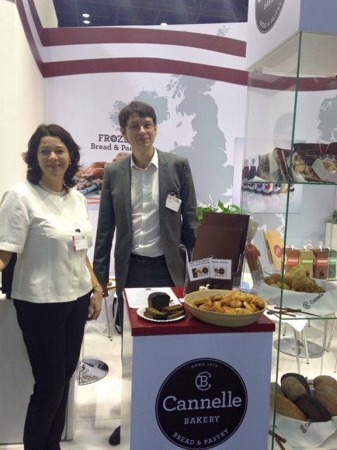 Cannelle Bakery at Gulfood 2015