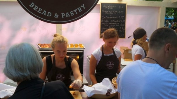 Cannelle Bakery Participated in the Riga City Festival