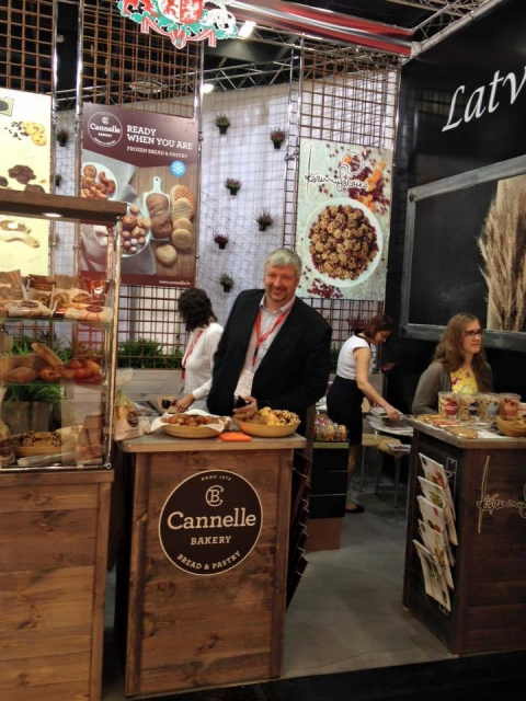 Cannelle Bakery at the Anuga 2015 Food Fair