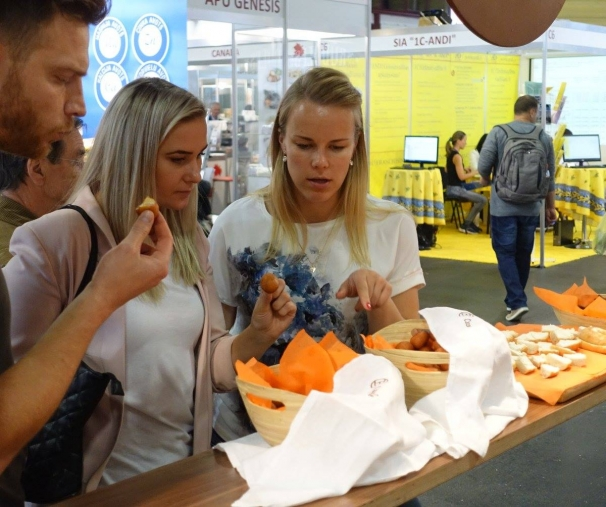 Cannelle Bakery Introducing American Bagels at Riga Food 2017