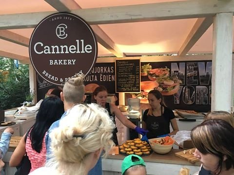 Cannelle Bakery - on the Bread Street During the Riga City Festival