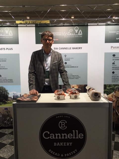 Cannelle Bakery at the World Latvian Economics and Innovations Forum